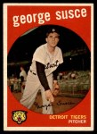 1959 Topps #511  George Susce  Front Thumbnail
