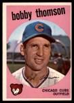 1959 Topps #429  Bobby Thomson  Front Thumbnail