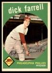 1959 Topps #175  Dick Farrell  Front Thumbnail