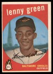 1959 Topps #209  Lenny Green  Front Thumbnail