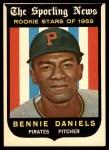 1959 Topps #122  Bennie Daniels  Front Thumbnail
