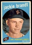 1959 Topps #297  Jackie Brandt  Front Thumbnail
