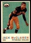 1959 Topps #157  Jack McClairen  Front Thumbnail