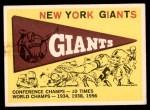 1959 Topps #53   Giants Pennant Front Thumbnail