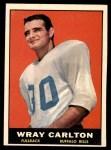 1961 Topps #160  Wray Carlton  Front Thumbnail