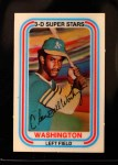 1976 Kellogg's #2  Claudell Washington  Front Thumbnail