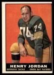1961 Topps #45  Hank Jordan  Front Thumbnail