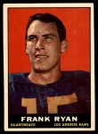 1961 Topps #48  Frank Ryan  Front Thumbnail