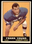 1961 Topps #82  Frank Youso  Front Thumbnail