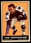 1961 Topps #27  Tom Frankhauser  Front Thumbnail