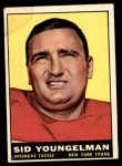 1961 Topps #152  Sid Youngelman  Front Thumbnail
