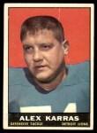 1961 Topps #35  Alex Karras  Front Thumbnail