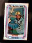 1976 Kellogg's #21  George Scott  Front Thumbnail