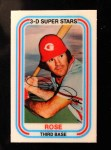 1976 Kellogg's #55  Pete Rose  Front Thumbnail