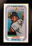 1976 Kellogg's #17  Ron LeFlore  Front Thumbnail