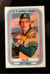 1976 Kellogg's #7  Joe Rudi  Front Thumbnail