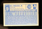 1976 Kellogg's #20  Bill Madlock  Back Thumbnail