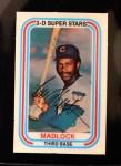 1976 Kellogg's #20  Bill Madlock  Front Thumbnail