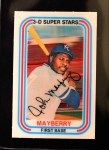 1976 Kellogg's #46  John Mayberry  Front Thumbnail