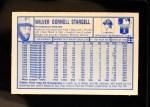 1976 Kellogg's #22  Willie Stargell  Back Thumbnail
