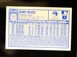 1976 Kellogg's #43  Jerry Reuss  Back Thumbnail