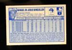 1976 Kellogg's #42  Manny Sanguillen  Back Thumbnail