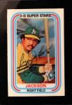 1976 Kellogg's #8  Reggie Jackson  Front Thumbnail