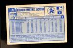 1976 Kellogg's #8  Reggie Jackson  Back Thumbnail
