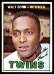 1967 Topps #224  Walt Bond  Front Thumbnail