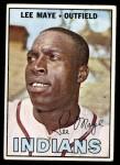 1967 Topps #258  Lee Maye  Front Thumbnail