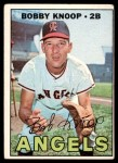 1967 Topps #175  Bobby Knoop  Front Thumbnail