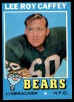 1971 Topps #203  Lee Roy Caffey  Front Thumbnail