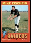 1971 Topps #231  Mike Eischeid  Front Thumbnail