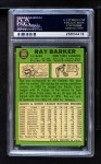 1967 Topps #583  Ray Barker  Back Thumbnail