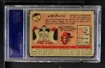 1958 Topps #32 YN J.W. Porter  Back Thumbnail