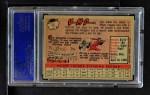 1958 Topps #65 YN Von McDaniel  Back Thumbnail