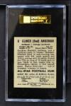 1949 Leaf #9  Elmer Bud Angsman  Back Thumbnail