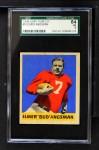 1949 Leaf #9  Elmer Bud Angsman  Front Thumbnail