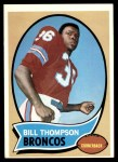 1970 Topps #231  Bill Thompson  Front Thumbnail