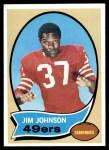 1970 Topps #245  Jimmy Johnson  Front Thumbnail