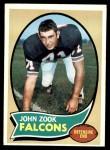 1970 Topps #209  John Zook  Front Thumbnail