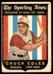 1959 Topps #120  Chuck Coles  Front Thumbnail
