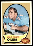 1970 Topps #204  Walt Suggs  Front Thumbnail