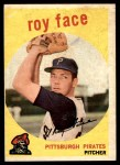 1959 Topps #339  Roy Face  Front Thumbnail