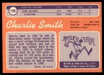 1970 Topps #199  Charlie Smith  Back Thumbnail