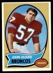 1970 Topps #146  John Huard  Front Thumbnail