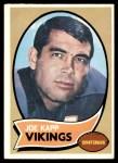 1970 Topps #250  Joe Kapp  Front Thumbnail