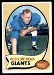 1970 Topps #197  Bob Lurtsema  Front Thumbnail