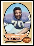 1970 Topps #213  Jim Marshall  Front Thumbnail