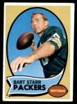 1970 Topps #30  Bart Starr  Front Thumbnail